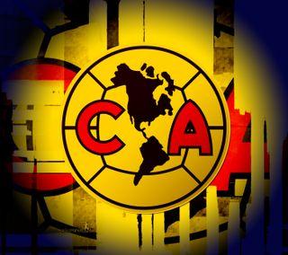 Обои на телефон футбол, клуб, америка, логотипы, logo club america, club america, ca