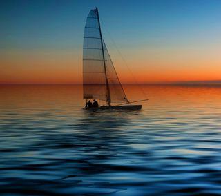 Обои на телефон греция, синие, прекрасные, новый, небо, любовь, лодки, крутые, вода, love, hd