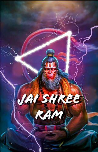 Обои на телефон хануман, рам, ram ji, jai shri ram, hanuman ji