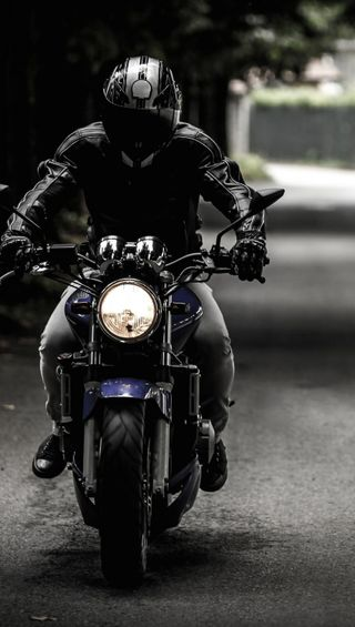 Обои на телефон всадник, черные, мотоциклы, black rider