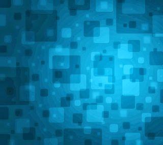 Обои на телефон квадратные, синие
