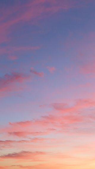 Обои на телефон вечер, фиолетовые, спокойные, облака, небо, красота, земля, закат, hd, beauty of the earth