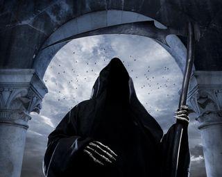 Обои на телефон готические, череп, темные, смерть, мрачные, undead, repear