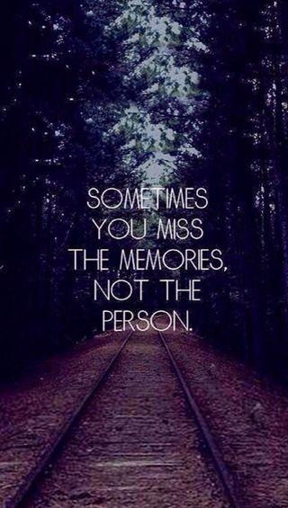 Обои на телефон скучать, воспоминания, miss the memories