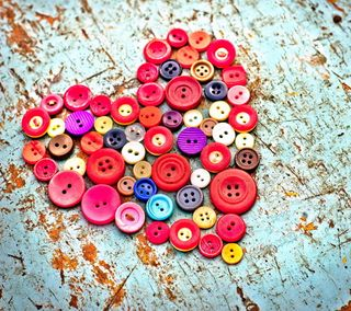 Обои на телефон кнопка, винтаж, сердце, любовь, love