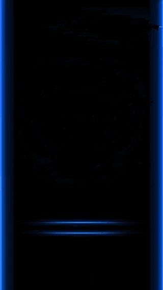 Обои на телефон грани, синие, s7