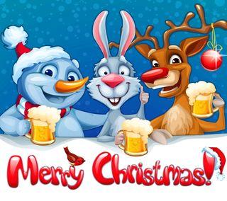 Обои на телефон пожелания, счастливое, рождество, праздник, мультфильмы, декабрь