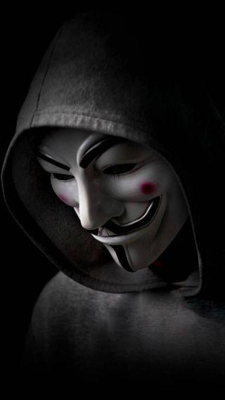 Обои на телефон хакер, анонимус, mnyanonymouz