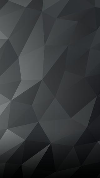Обои на телефон многоугольник, черные, серые, поли, геометрические, poly wallpaper grey