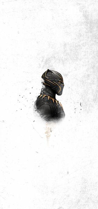 Обои на телефон пантера, черные, финал, супергерои, мстители, марвел, золотые, marvel, hd, chadwick boseman, blackpanther, black panther gold