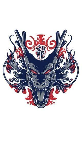 Обои на телефон мяч, дракон, длинный, shenlong, shaen long, dragon shen long, dragon ball z, dragon