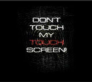 Обои на телефон экран, шутка, цитата, трогать, телефон, поговорка, забавные, touch screen
