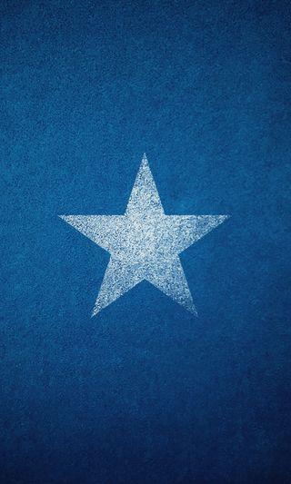 Обои на телефон один, текстуры, синие, свежий, простые, крутые, звезда, белые, worn, single star, hd