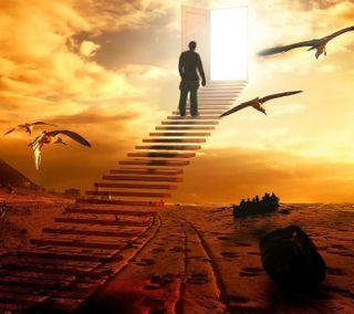 Обои на телефон религиозные, путь, небеса, way to heaven