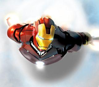 Обои на телефон летать, фильмы, полет, комиксы, железный, iron man flying