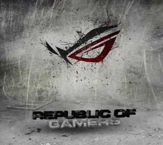 Обои на телефон логотипы, асус, republic of gamers, republic, gamers, asus