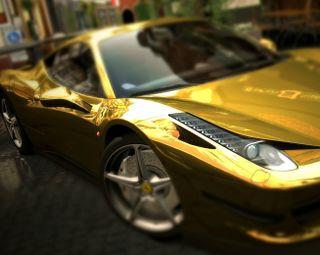 Обои на телефон феррари, скорость, машины, италия, золотые, гоночные, gold ferrari, ferrari