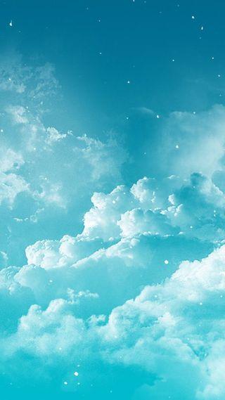 Обои на телефон облака, мир