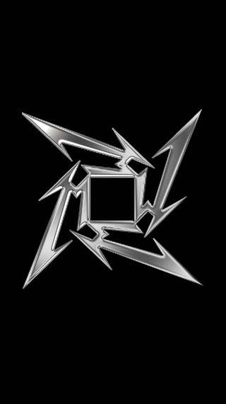 Обои на телефон группа, черные, тяжелый, серебряные, рок, музыка, металлика, металл