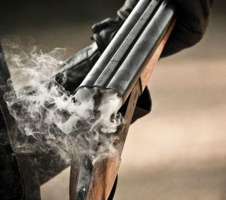 Обои на телефон сигареты, оружие, два, two smoking barrels, shotgun, firearms