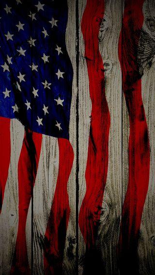 Обои на телефон флаг, доска, американские, us