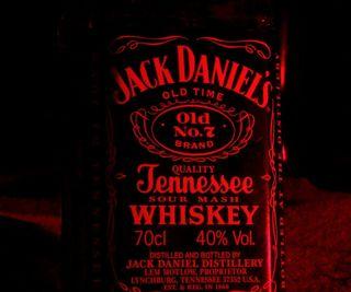Обои на телефон дэниелс, бутылка, джек