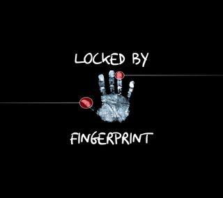 Обои на телефон отпечаток пальца, блокировка, z5, darkxperia