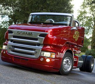 Обои на телефон швеция, красые, жемчужина, грузовики, v8, scania