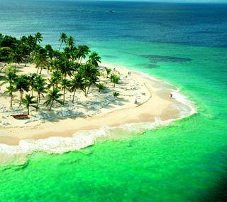 Обои на телефон океан, пляж