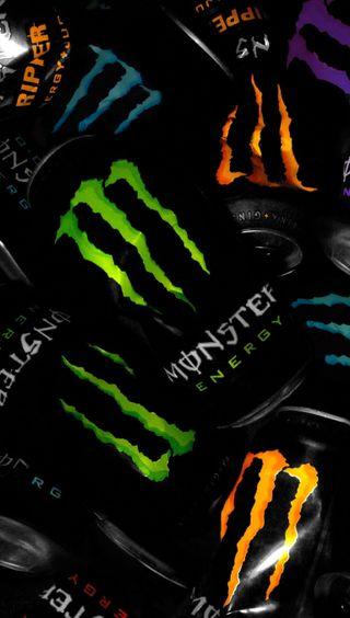 Обои на телефон энергетики, гоночные, форд, напиток, мотоциклы, машины, логотипы, игра, байк, авто, monster energy, ford