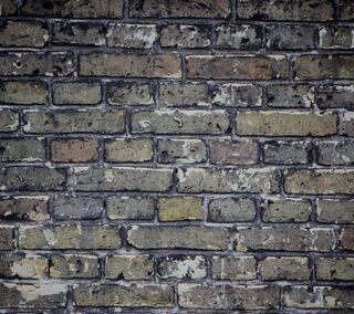Обои на телефон кирпичи, стена, aged brick