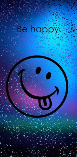 Обои на телефон микс, фиолетовые, счастливые, сердце, happy
