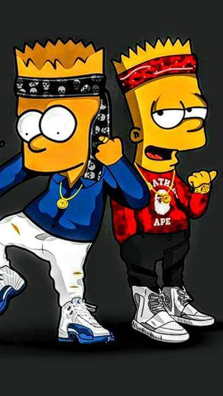 Обои на телефон гангстер, бок, dope, barts gangster side