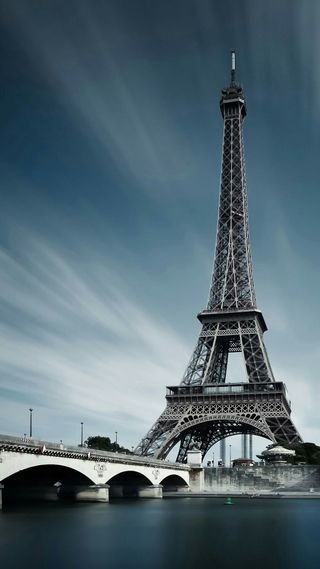 Обои на телефон париж, башня