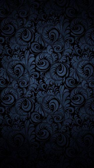Обои на телефон цветы, темные, синие