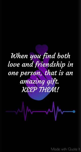 Обои на телефон дружба, удивительные, подарок, отношения