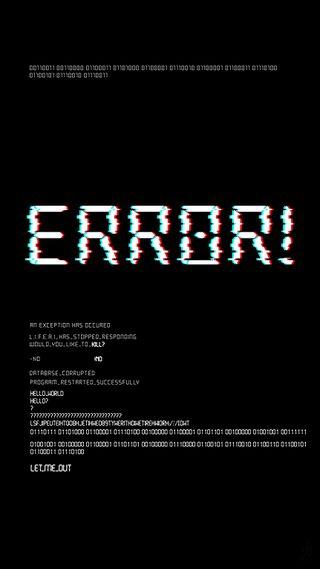 Обои на телефон program, meta, bugs and features, темные, текст, векторные, сбой, код, ошибка, крэш, вирус, багз