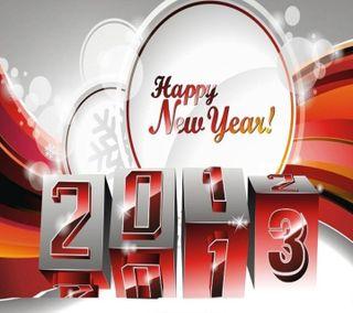 Обои на телефон счастливые, приятные, праздновать, праздник, повод, новый, крутые, год, happy new year 2013, 2013
