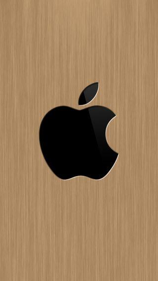 Обои на телефон эпл, деревянные, apple