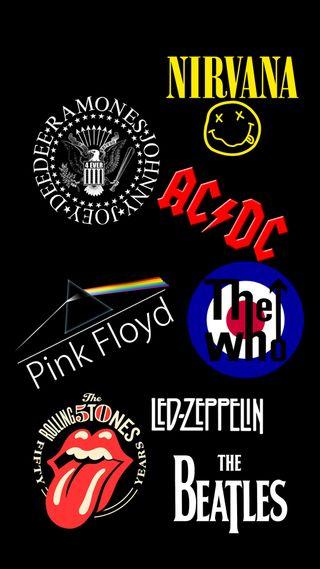 Обои на телефон рок, rocking, oldies, htc one