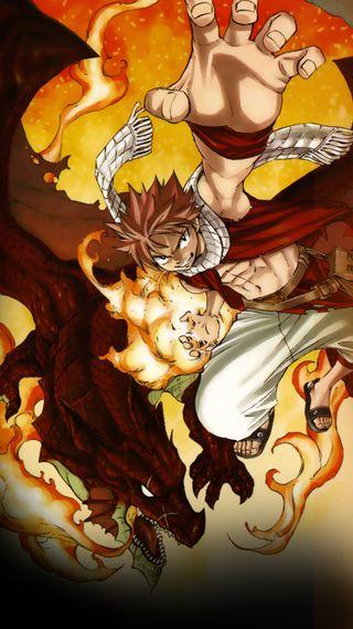 Обои на телефон тьма, сказочные, пламя, огонь, нацу, манга, дракон, аниме, tale, natsu and igneel, dragon