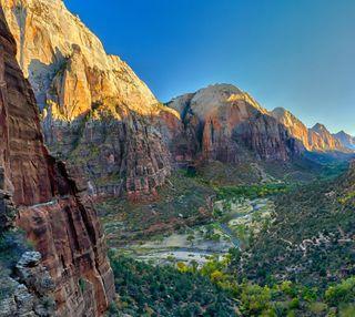 Обои на телефон холм, парк, пейзаж, национальная, горы, national park