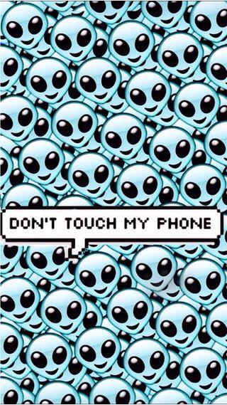 Обои на телефон трогать, телефон, пришельцы, не, мой