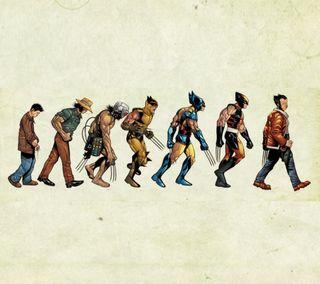 Обои на телефон эволюция, люди, росомаха, марвел, логан, крутые, компьютерщик, комиксы, x-men, marvel