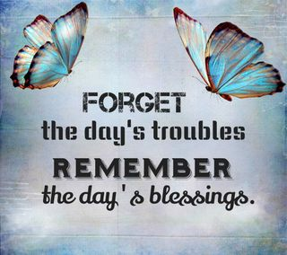 Обои на телефон текст, цитата, помни, забудь, вдохновение, troubles, blessings