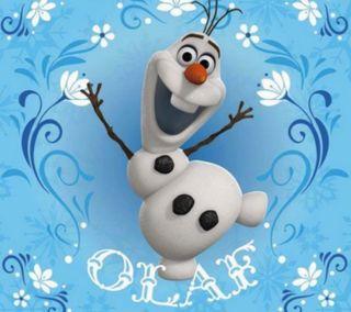 Обои на телефон холодное, счастливые, снеговик, снег, олаф, зима, happy