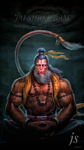 Обои на телефон хануман, рам, господин, lord hanuman, jai shree ram