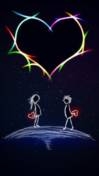 Обои на телефон романтика, сердце, любовь, love