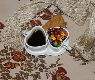 Обои на телефон конфеты, сердце, милые, любовь, кофе, love, biscuit