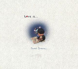 Обои на телефон мультфильмы, любовь, love